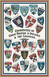 Arms of universities of Great Britain and Ireland and the Colonies