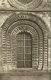Norman door, Church of St Mary the Virgin, Iffley, Oxfordshire