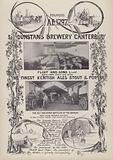 Advertisement for St Dunstan's Brewery, Canterbury, Kent