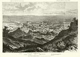 Rome viewed from the Caelian Hill in the time of Julius Caesar