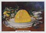 Lemon Jell-O, advertisement produced for the Genesee Pure Food Company, Le Roy, New York, USA