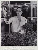 Modern Beauty Culture: Helena Rubinstein, with some of the raw materials of her preparations