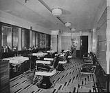 RMS Queen Mary: Barber's shop