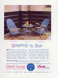 Advertisement for Lloyd Loom Woven Fibre Furniture, 1937