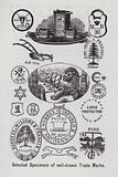 Selected specimens of well-known trade marks