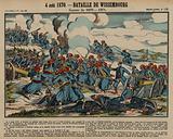 Battle of Wissembourg, Franco-Prussian War, 4 August 1870