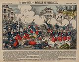 Battle of Villersexel, Franco-Prussian War, 15 January 1871