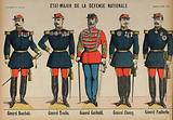 Members of the General Staff of the French Army during the Franco-Prussian War, 1870–1871