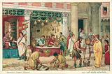 Ancient Roman street scene