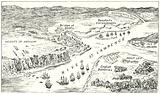 View of Quebec and its defences in 1759