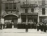 Labour Exchange, Whitechapel Road, London, 1890