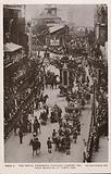 Coronation procession of King George V and Queen, Temple Bar, London, 1911