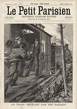 Audacious train robbery near Vierzon, France, 1896