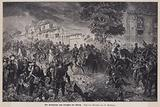 Crown Prince Frederick of Prussia at the Battle of Woerth, France, Franco-Prussian War, 1870