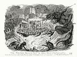 The Fiend's Frying Pan, or Annual Festival of Tomfoolery & Vice under the Sanction of the Lord Mayor and the …