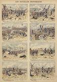 Historic battles of the French Revolutionary Wars: Valmy, Wattignies, Fleurus, Arcole, Rivoli, Heliopolis, Aboukir, …