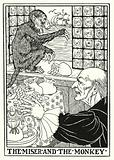 Fables of La Fontaine: The miser and the monkey