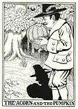 Fables of La Fontaine: The acorn and the pumpkin