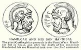 Hamilcar and his son Hannibal