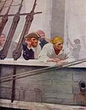 Illustration for Kidnapped by Robert Louis Stevenson