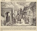 A street in the reign of Richard I