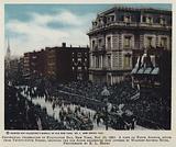 Centennial celebration of Evacuation Day, New York, 25 November 1883