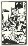 Illustration for Tristram Shandy by Laurence Sterne