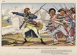 Les Volontaires En Sabots A La Bataille De Valmy, 1792
