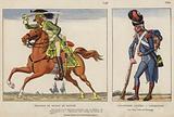 Dragons De Murat En Egypte, 1798; Infanterie Legere, Carabinier, 1800