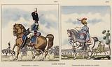 Garde Royale; Grenadier A Cheval, 1816; Tymbalier Des Gardes Du Corps, 1816