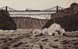 Niagara Falls: Whirlpool Rapids, Railway Suspension Bridge and Cantilever Bridge
