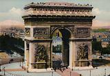 Paris: L'Arc de Triomphe de l'Etoile, The Arch of Triumph