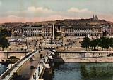 Paris: Panorama de la Place de la Concorde, Panorama of Place de la Concorde