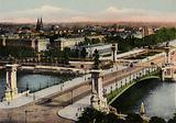Paris: Le Pont Alexandre III, Alexander III Bridge