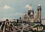 Paris: Le Sacre-Coeur de Montmartre, Sacre-Coeur Basilica of Montmartre