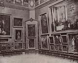 Paris: The Salon Carre of the Louvre
