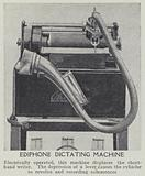 Ediphone dictating machine