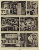 Pottery, Progressive stages in an important and highly skilled industry