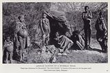 African natives of a Bushman tribe