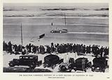 Sir Malcolm Campbell setting up a new record at Daytona in 1931
