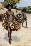 Off to the Dubu Dance, British New Guinea