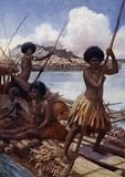 Off to Market, British New Guinea