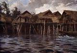 Motu Village from the Sea