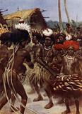 Harvest Dance, New Guinea