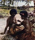 Tattooing, British New Guinea