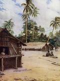 Solomon Island Village, near Marau Sound, New Florida
