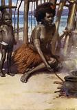 Cooking the Meal, British New Guinea