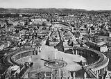 Roma / Rome: Panorama dalla Cupola di S Pietro