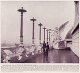 Chicago World's Fair, 1893: The Promenade and Gas Torches on Administration Building