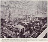Chicago World's Fair, 1893: The Austrian Section in Manufactures Building